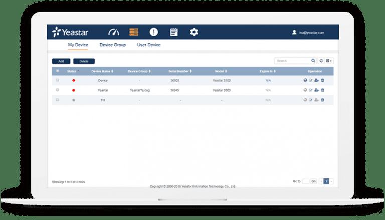 Yeastar Remote PBX Management