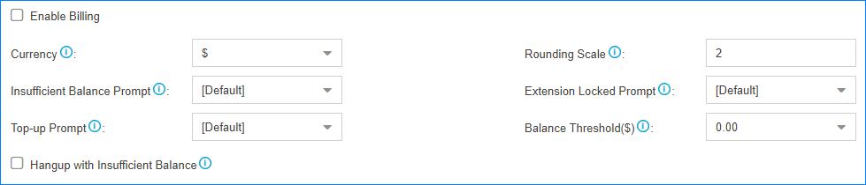 Yeastar Billing App For S20, S50, S100, S200