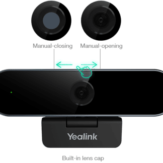Yealink UVC20 1080P webcam and integrated privacy shutter